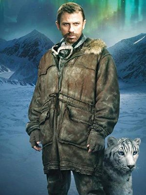 Lord Asriel The Golden Compass Daniel Craig Brown Shearling Leather Jacket