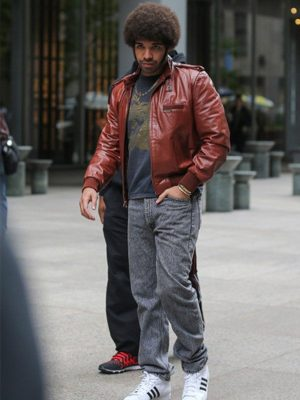 Drake Anchorman 2 The Legend Continues Soul Brother Brown Jacket