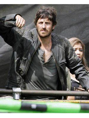 Eoin Macken Resident Evil the Final Chapter Doc Leather Jacket