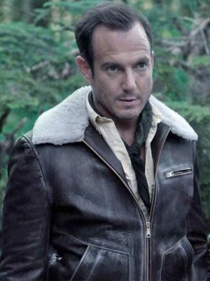 Will Arnett A Series of Unfortunate Events Father Brown Leather Jacket