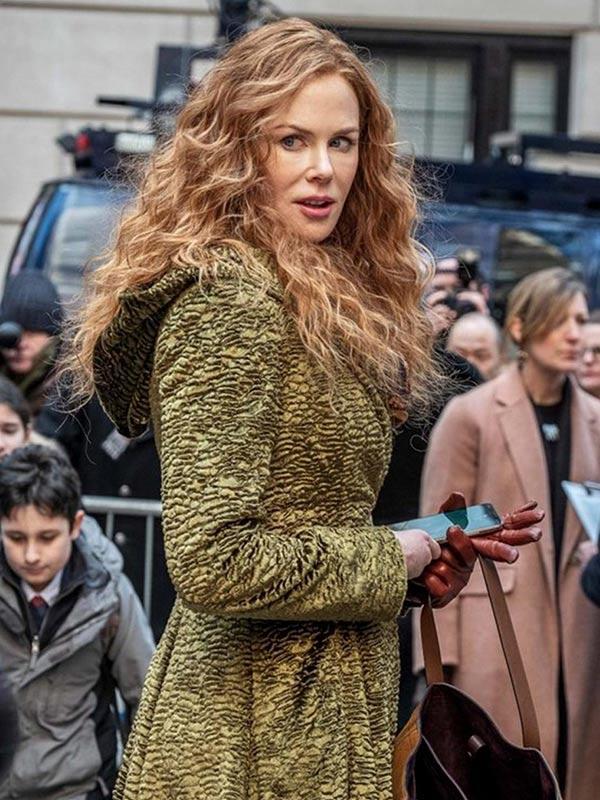 Grace Sachs The Undoing Season 01 Nicole Kidman Green Coat