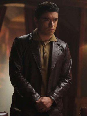 Michael Consuelos Riverdale Season 5 Brown Leather Jacket