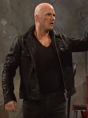 Jason Statham Ad Black Leather Jacket