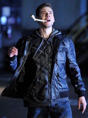 Brian J. Smith TV Series Warehouse 13 Jesse Ashton Black Leather Jacket