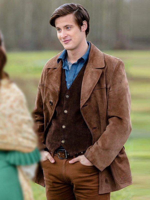 Jesse Flynn When Calls the Heart Aren Buchholz Leather Jacket