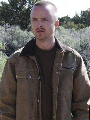 Jesse Pinkman TV Series Breaking Bad Aaron Paul Cotton Jacket