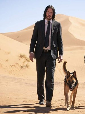 Keanu Reeves John Wick Chapter 3 Parabellum Cotton Black Suit