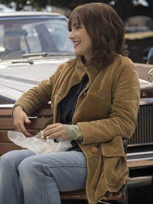 Joyce Byers TV Series Stranger Things Brown Corduroy Jacket