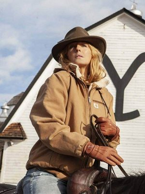 Beth Dutton TV Series Yellowstone Kelly Reilly Bomber Jacket