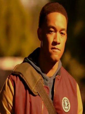 Peyton Alex Smith TV Series Legacies Season 03 Rafael Waithe Cotton Bomber Jacket