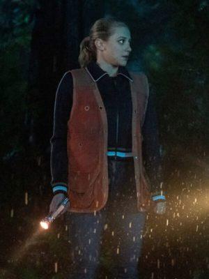Betty Cooper Tv Series Riverdale Season 04 Lili Reinhart Brown Leather Vest