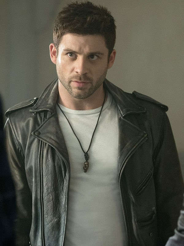 Dalton TV Series Ash vs Evil Dead Lindsay Farris Black Leather Biker Jacket