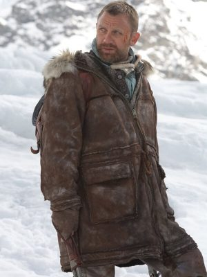 Daniel Craig The Golden Compass Lord Asriel Brown Leather Jacket