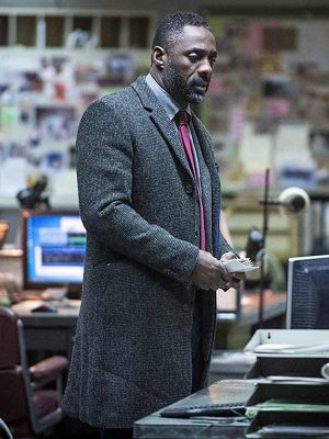 Luther DCI John Luther Coat