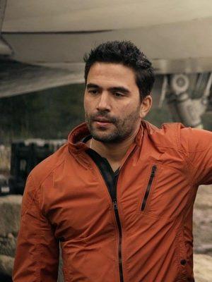 Lost in Space Ignacio Serricchio Orange Jacket