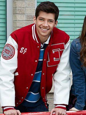 Matt Cornett High School Musical E.J. Caswell Wool Bomber Jacket