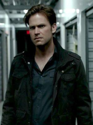 The Vampire Diaries Alaric Saltzman Black Jacket