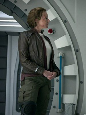 Molly Parker Lost in Space 2018 Maureen Robinson Leather Jacket