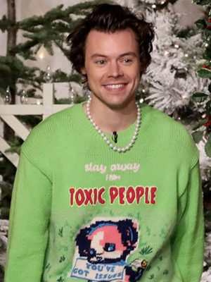 Harry Styles Stay Away From Toxic People Styles Sweater