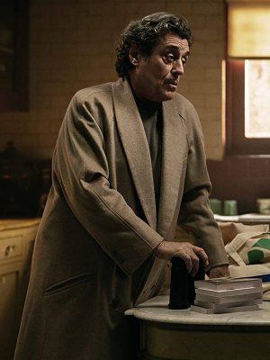 Mr. Wednesday TV Series American Gods Ian McShane Wool Trench Coat