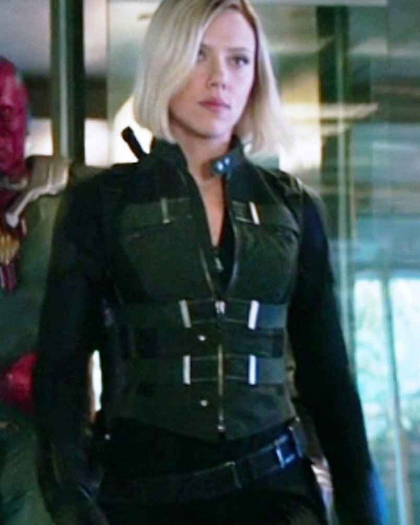 Avengers Infinity War Black Widow Natasha Romanoff Vest
