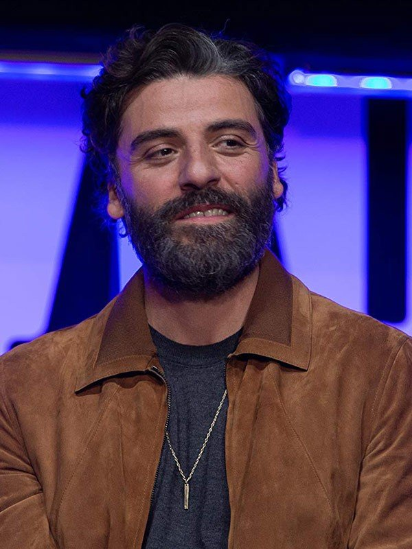Star Wars the Rise of Skywalker Oscar Isaac Brown Leather Jacket