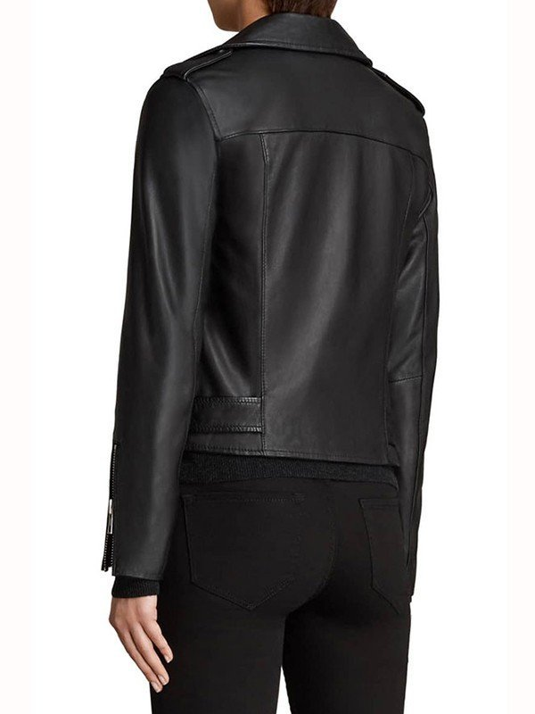 Pretty Little Liars the Perfectionists Sydney Park Biker Leather Jacket