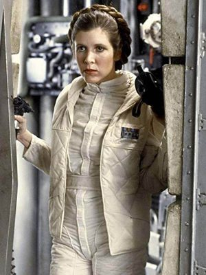 Star Wars the Empire Strikes Back Carrie Fisher Quilted Vest