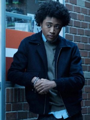 MG TV Series Legacies Quincy Fouse Black Cotton Bomber Jacket