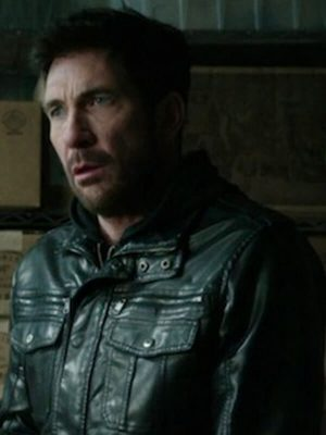 Robert Freezer Movie 2014 Dylan Mcdermott Black Leather Jacket