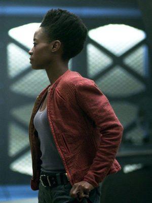 Angela Goddard Lost in Space Sibongile Mlambo Cotton Jacket