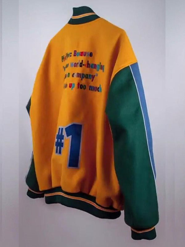Pied Piper Silicon Valley Varsity Jacket