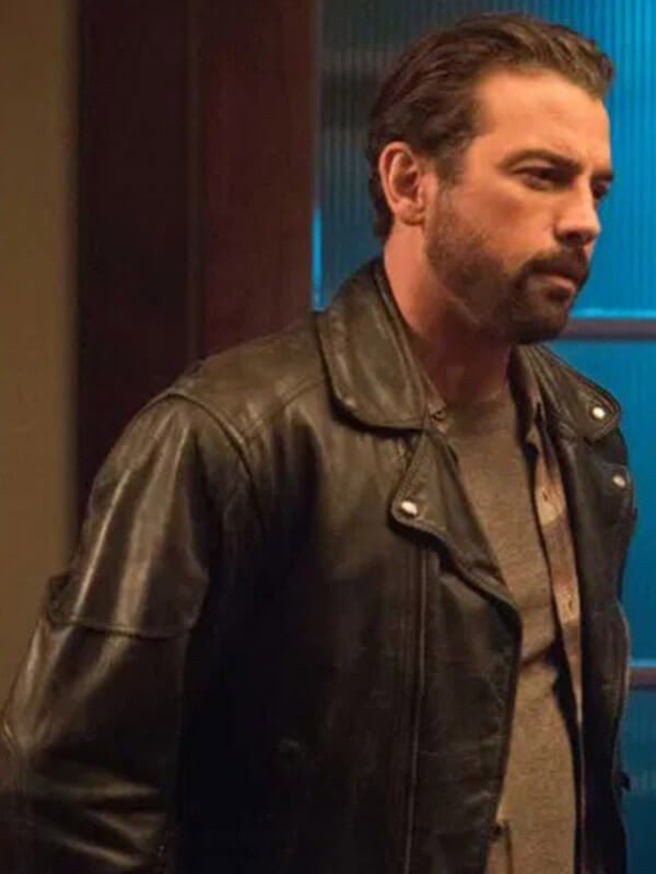 F. P. Jones TV Series Riverdale Season 04 Skeet Ulrich Black Biker Leather Jacket