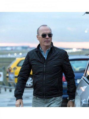Stan Hurley American Assassin Movie Michael Keaton Black Jacket