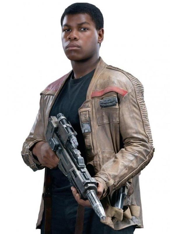 John Boyega Star Wars The Rise of Skywalker Finn Leather Jacket