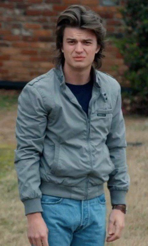 Steve Harrington TV Series Stranger Things Bomber Jacket