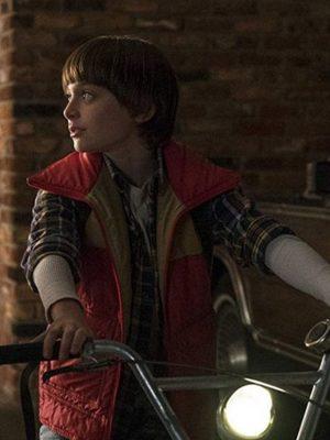 Stranger Things Season 03 Noah Schnapp Vest