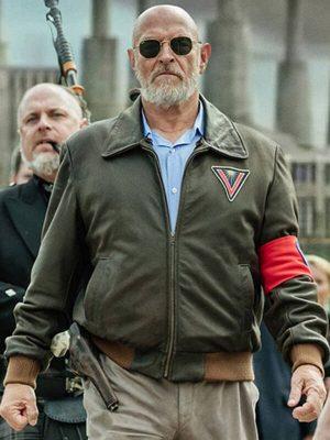 Corbin Bernsen American Gods Vulcan Bomber Leather Jacket