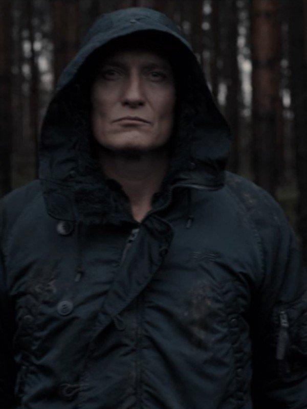 Jonas Kahnwald TV Series Dark Black Hooded Jacket