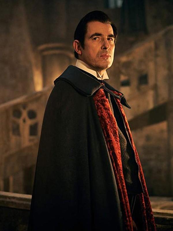 Count Dracula TV Series Dracula Claes Bang Black Cape Wool Blend Coat