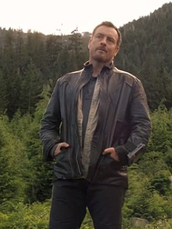 John Robinson TV Series Lost in Space Leather Jacket