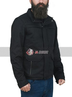 TV Series The Punisher Jon Bernthal Black Cotton Jacket