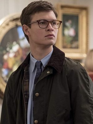 Ansel Elgort The Goldfinch 2019 Adult Theo Decker Cotton Jacket