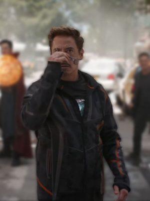 Robert Downey Jr Avengers Infinity War Tony Stark Jacket