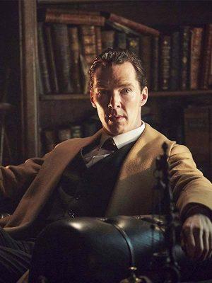 Benedict Cumberbatch Sherlock Holmes 2009 Brown Wool Coat